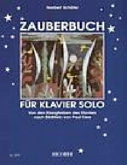 Zauberbuch Norbert Schäfer Partition Piano - laflutedepan