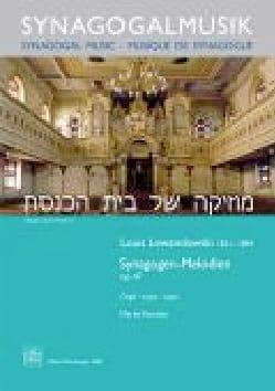 Synagogen-melodien op. 47 Louis Lewandowski Partition laflutedepan