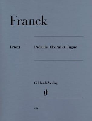 Prélude, Choral et Fugue Opus 21 FRANCK Partition Piano - laflutedepan