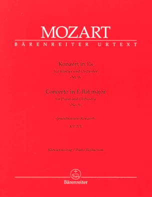 Concerto Pour Piano N° 9 En Mi Bémol Majeur K 271 - laflutedepan.com