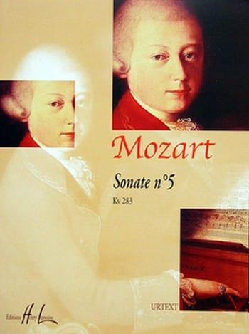Sonate n° 5 KV 283. - MOZART - Partition - Piano - laflutedepan.com