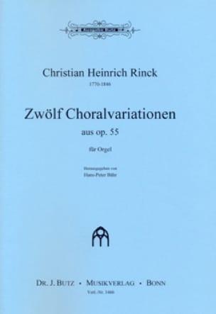 12 Choralvariationen op. 55 - laflutedepan.com