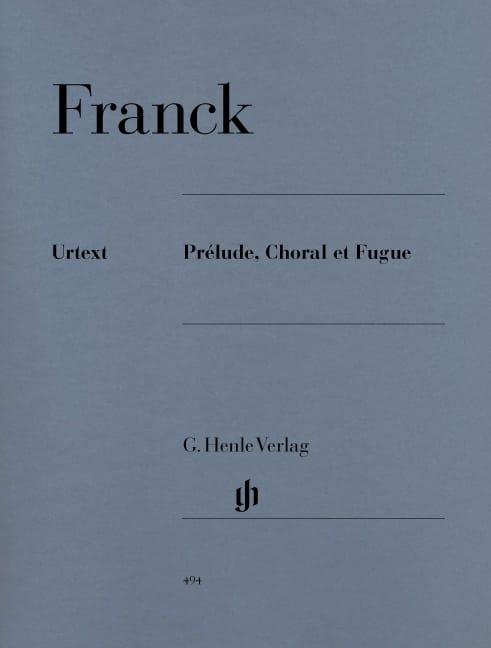 Prélude, Choral et Fugue Opus 21 - FRANCK - laflutedepan.com