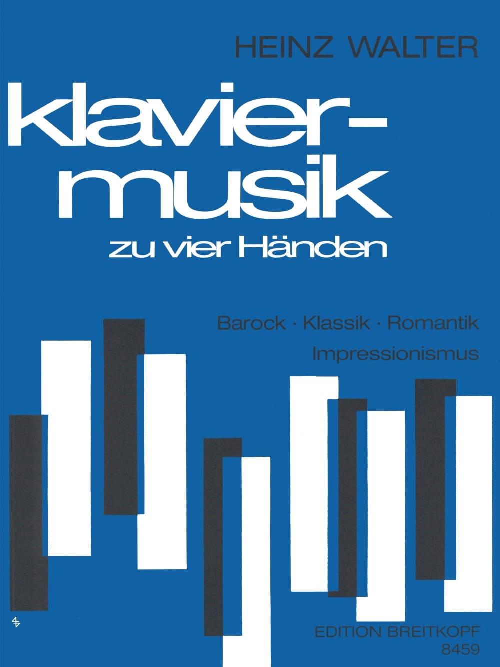 Klaviermusik Aus 4 Jahrhunderten. 4 Mains - laflutedepan.com