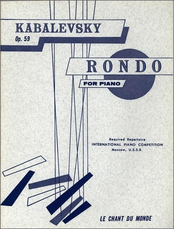 Rondo Op. 59 - KABALEVSKY - Partition - Piano - laflutedepan.com