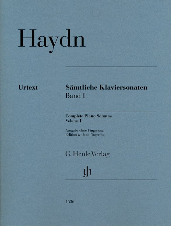 Sonates Pour Piano - Volume 1 (sans doigtés) - laflutedepan.com