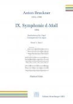 Symphonie n° 9. 1er mouvement BRUCKNER Partition Orgue - laflutedepan