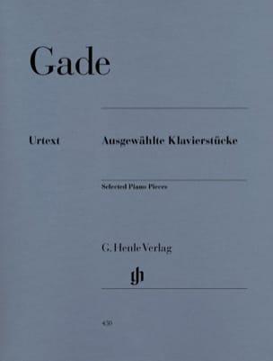 Ausgewählte Klavierstücke Niels Gade Partition Piano - laflutedepan