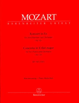 Concerto pour 2 pianos N° 10 mi bémol majeur K 365 316a laflutedepan