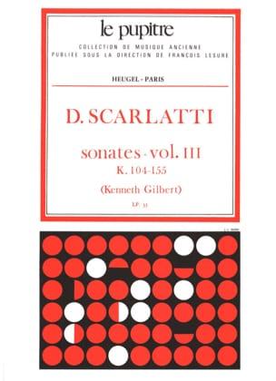 Oeuvres Complètes Volume 3. K104 A K155 SCARLATTI laflutedepan