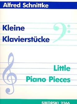 Kleine Klavierstücke - SCHNITTKE - Partition - laflutedepan.com