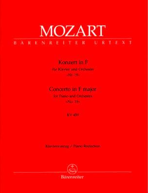 Concerto Pour Piano N° 19 En Fa Majeur K 459 MOZART laflutedepan