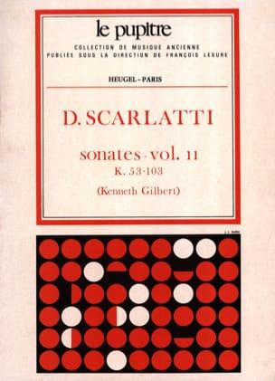 Oeuvres Complètes Volume 2. K53 A K103 SCARLATTI laflutedepan
