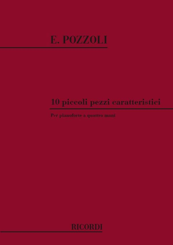 10 Piccoli Pezzi Caratteristici. 4 Mains - laflutedepan.com