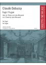 Fugue DEBUSSY Partition Orgue - laflutedepan