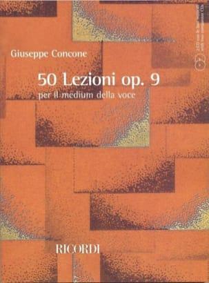50 Lezioni Opus 9 Giuseppe Concone Partition Pédagogie - laflutedepan
