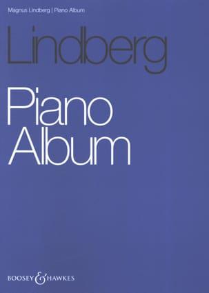 Piano Album Magnus Lindberg Partition Piano - laflutedepan