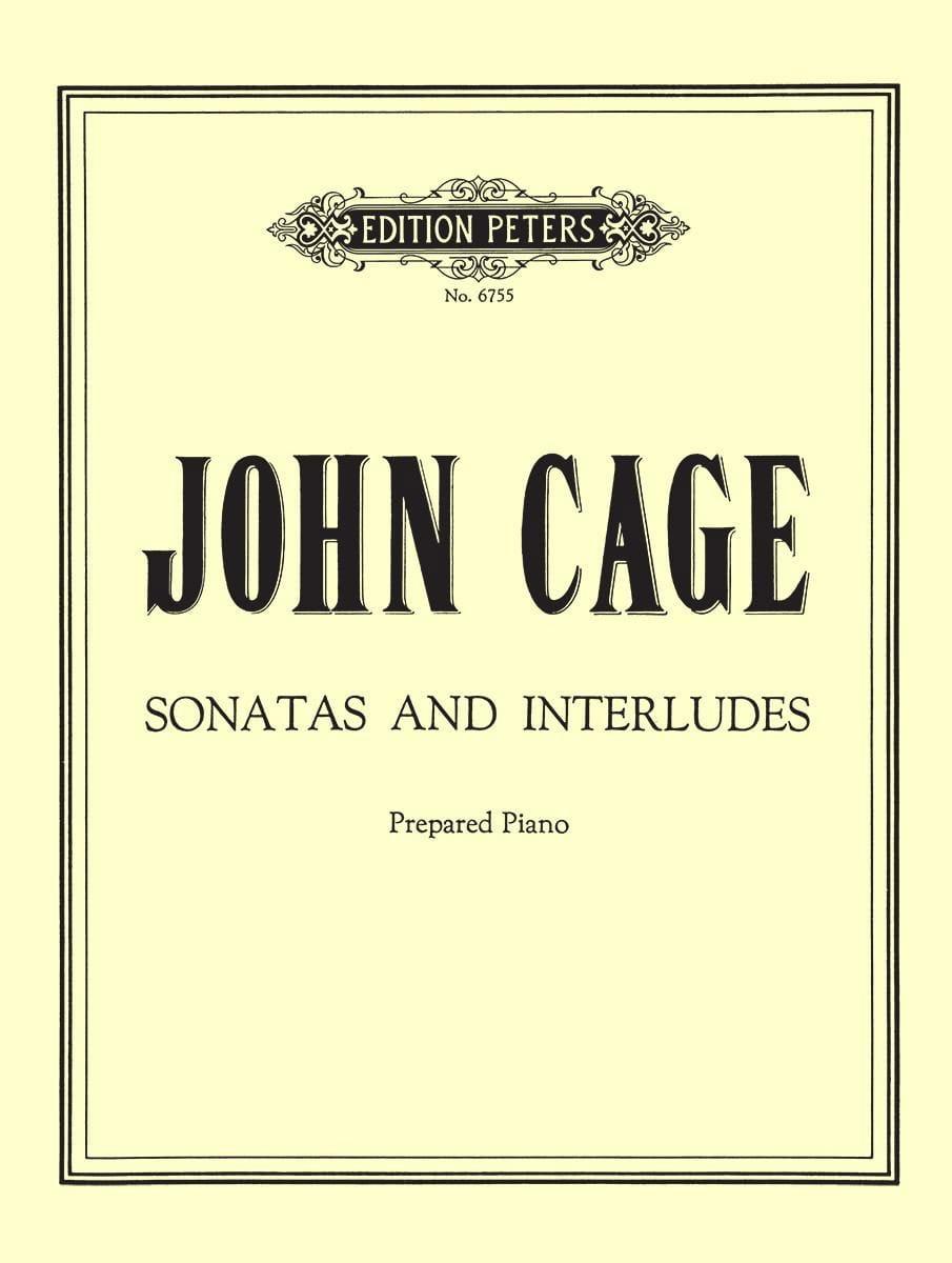 Sonates Et Interludes - CAGE - Partition - Piano - laflutedepan.com