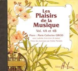 Les Plaisirs de la Musique - Volume 4A-4B - CD laflutedepan