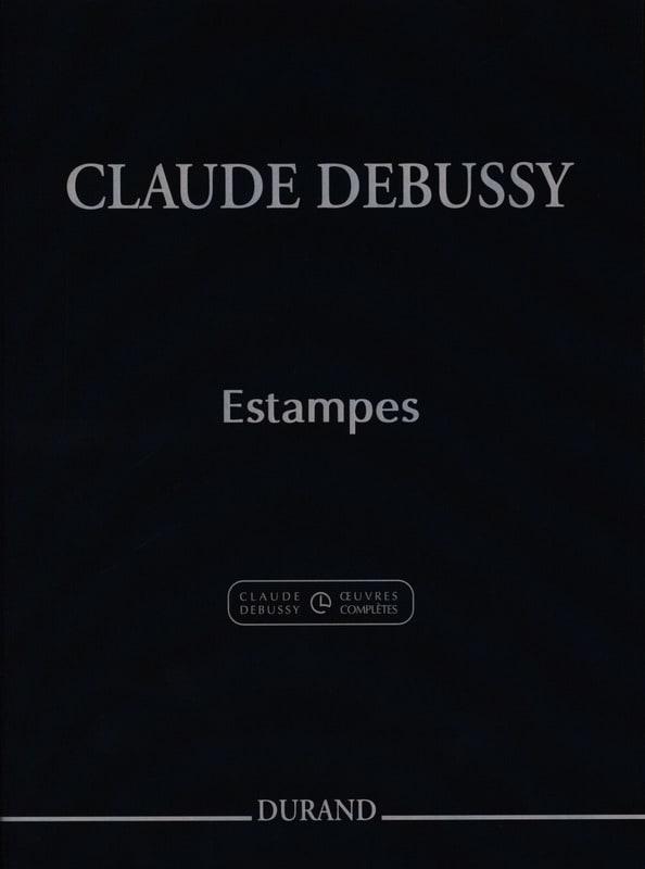 Estampes - DEBUSSY - Partition - Piano - laflutedepan.com