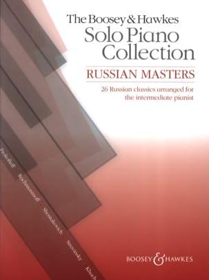Russian Masters Partition Piano - laflutedepan