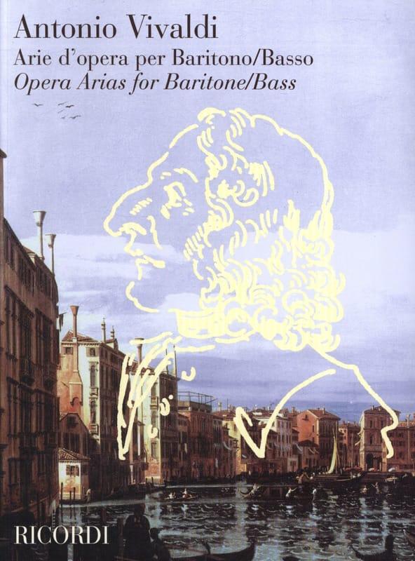Arie D'opera Per Baritono / Basso - VIVALDI - laflutedepan.com