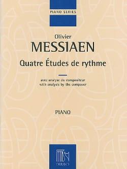 4 Etudes de Rythme MESSIAEN Partition Piano - laflutedepan