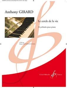 Le Cercle de la Vie Anthony Girard Partition Piano - laflutedepan