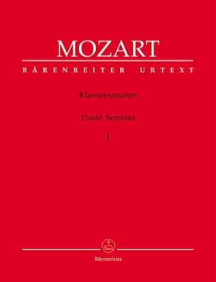 Sonates Volume 1 MOZART Partition Piano - laflutedepan