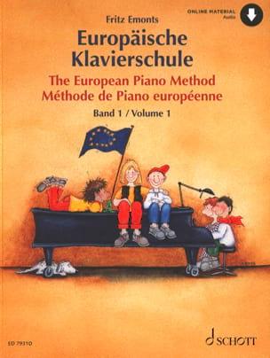 - Méthode Européenne de Piano Volume 1 - Partition - di-arezzo.fr