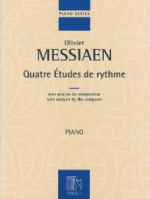 4 Etudes de Rythme - MESSIAEN - Partition - Piano - laflutedepan.com