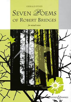 7 Poems Of Robert Bridges Gerald Finzi Partition Chœur - laflutedepan