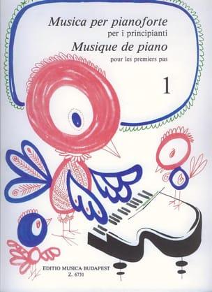 Pour les Premiers Pas Volume 1 Partition Piano - laflutedepan