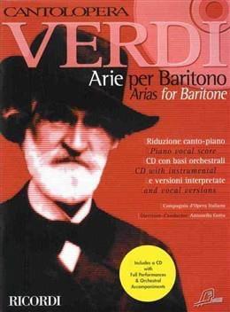 Arie Per Baritono VERDI Partition Opéras - laflutedepan