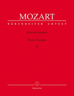 Sonates Volume 2 MOZART Partition Piano - laflutedepan