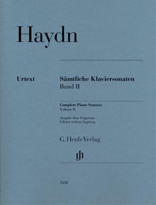 Sonates Pour Piano - Volume 2 (sans doigtés) - laflutedepan.com