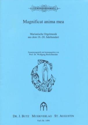 Magnificat anima mea - Partition - Orgue - laflutedepan.com