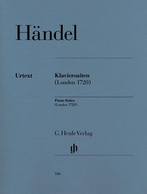 Suites Pour Piano Londres 1720 - HAENDEL - laflutedepan.com