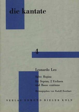 Salve Regina Leo Leonardo Partition laflutedepan