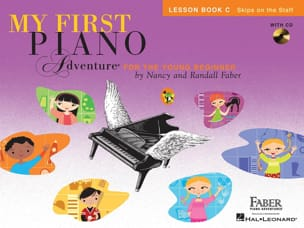 My first piano adventure - Lesson Book C + CD Nancy Faber laflutedepan