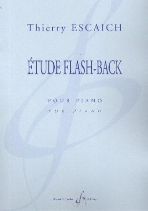 Etude Flash-Back Thierry Escaich Partition Piano - laflutedepan