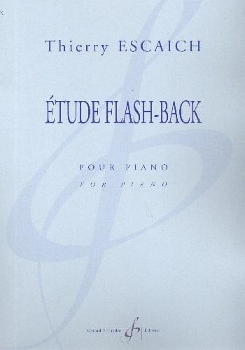 Etude Flash-Back - Thierry Escaich - Partition - laflutedepan.com