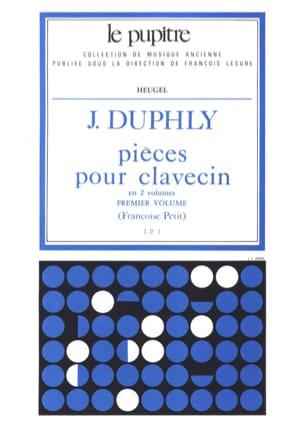 Pièces pour Clavecin. Volume 1 laflutedepan