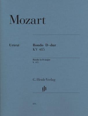 Rondo en Re majeur K. 485 MOZART Partition Piano - laflutedepan