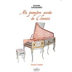Ma première année de clavecin Armelle Choquard Partition laflutedepan
