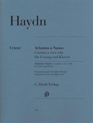 Arianna a Naxos Hob. XXVIb:2 - HAYDN - Partition - laflutedepan.com