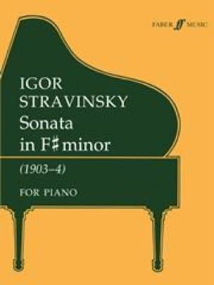 Sonate En Fa dièse Mineur - STRAVINSKY - Partition - laflutedepan.com