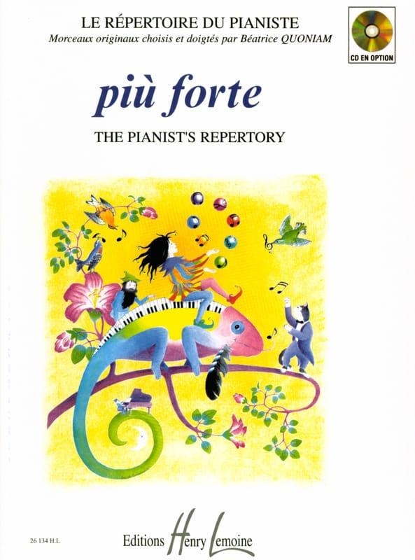 Piu Forte - Partition - Piano - laflutedepan.be