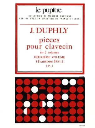 Duphly Jacques / Petit Françoise - Pieces For Harpsichord. Volume 2 - Partition - di-arezzo.co.uk