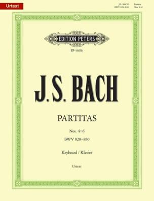 Partitas. Volume 2 BACH Partition Piano - laflutedepan